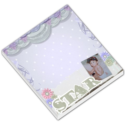 Little Star Small Memo Pad By Claire Mcallen   Small Memo Pads   N24amllytpzq   Www Artscow Com