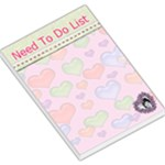 Heart need to do Large Memo pad - Large Memo Pads