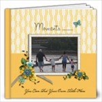 12x12 (40 pages) : Moments (Any Theme) - 12x12 Photo Book (20 pages)