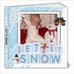 Let It Snow 8x8 60 Page Photo Book - 8x8 Photo Book (60 pages)