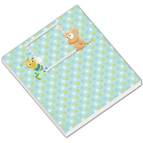My Back Yard Sm Memo Pad1 By Snackpackgu   Small Memo Pads   Oblmo6q97stt   Www Artscow Com