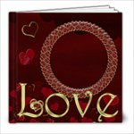 The Red Heart Book - 8x8 Photo Book (20 pages)