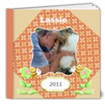 My Back Yard - Lassie - 8x8 Deluxe Photo Book (20 pages)