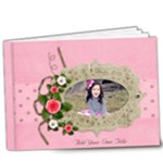 9x7 (DELUXE) : Love is YOU! any theme - 9x7 Deluxe Photo Book (20 pages)