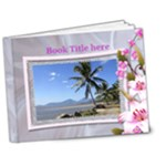 Floral 7x5  Deluxe Picture Book - 7x5 Deluxe Photo Book (20 pages)