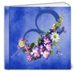 Blue deluxe photo book - 8x8 Deluxe Photo Book (20 pages)