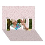 love - I Love You 3D Greeting Card (7x5)