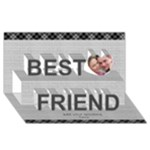 Forever Best Friends 3D Card - Best Friends 3D Greeting Card (8x4)