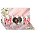 I Love you Mother 3D Card - MOM 3D Greeting Card (8x4)