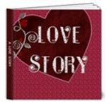 Love Story - 8x8 Deluxe Photo Book (20 pages)
