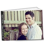 Engagement book - 9x7 Deluxe Photo Book (20 pages)
