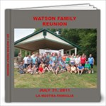 2011 WATSON REUNION - 12x12 Photo Book (20 pages)