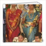 Gowri n Gopi album - 8x8 Photo Book (20 pages)