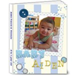 baby boy  - 8x10 Deluxe Photo Book (20 pages)