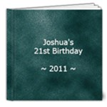 JD21 - 8x8 Deluxe Photo Book (20 pages)