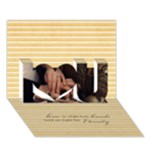 Hands for Eternity card - I Love You 3D Greeting Card (7x5)