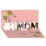 #1 MOM 3D Cards (8x4)  - #1 MOM 3D Greeting Cards (8x4)