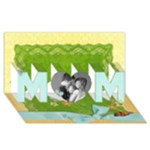 3D Mom Card, Spring & Butterflies - MOM 3D Greeting Card (8x4)