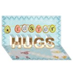Easter Hugs 3D Card - HUGS 3D Greeting Card (8x4)
