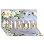 No1 MOM 3D Card - #1 MOM 3D Greeting Cards (8x4)