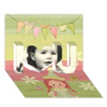 I Love You Card - I Love You 3D Greeting Card (7x5)