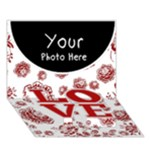 Love - LOVE Bottom 3D Greeting Card (7x5)