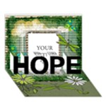 HOPE - HOPE 3D Greeting Card (7x5)