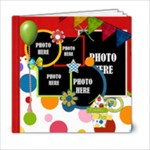 Carnival 6x6 Book - 6x6 Photo Book (20 pages)