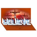 Believe in the Lord 3d Card - BELIEVE 3D Greeting Card (8x4)