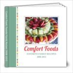 Recipe Book 2008-2012 - 8x8 Photo Book (20 pages)