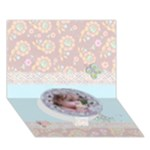 Mother s Day-Any theme-3D Circle bottom card - Circle Bottom 3D Greeting Card (7x5)