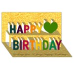 DADS B-DAY CARD - Happy Birthday 3D Greeting Card (8x4)