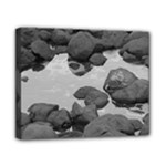 stones bw - Canvas 10  x 8  (Stretched)