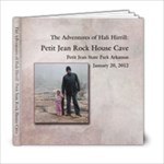 PetitJean Rock House Cave - 6x6 Photo Book (20 pages)