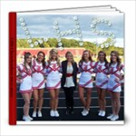 Cheer 2011-2012 - 8x8 Photo Book (20 pages)