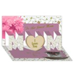 The Finest Mom 3d Card - MOM 3D Greeting Card (8x4)