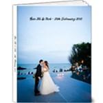 Gar Ho & Nok Wedding Album  - 9x12 Deluxe Photo Book (20 pages)