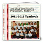 creative beg yearbook - 8x8 Photo Book (20 pages)