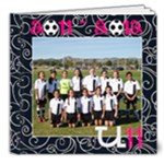 H SOCCER - 8x8 Deluxe Photo Book (20 pages)