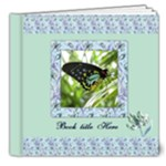 Wild Iris Deluxe 8x8 (20 Pages) Book 2 - 8x8 Deluxe Photo Book (20 pages)