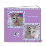 Wild Iris 6x6 Deluxe (20 Pages) Book - 6x6 Deluxe Photo Book (20 pages)