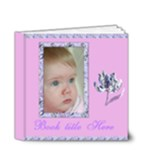 Wild Iris 4x4 Deluxe (20 Pages) Book - 4x4 Deluxe Photo Book (20 pages)
