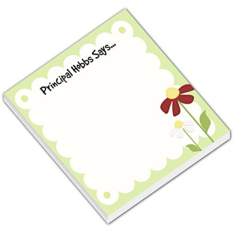 Hobbs By Linnell Fowers   Small Memo Pads   Bodn19t5nqz2   Www Artscow Com