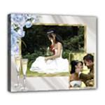 Anniversary/wedding/celebration  Deluxe 24x20 stretched Canvas - Deluxe Canvas 24  x 20  (Stretched)