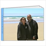 A day at the beach with Micheal and Cynthia - 9x7 Photo Book (20 pages)