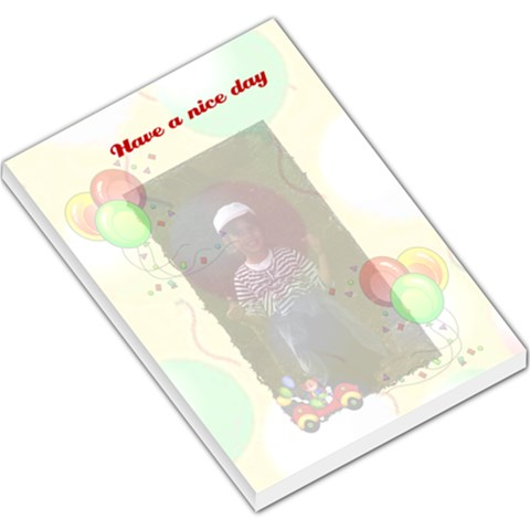 Lge Memo Thinking  By Malky   Large Memo Pads   Hi9u5spp77zd   Www Artscow Com