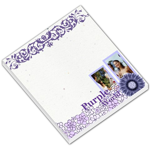 Purple By Joely   Small Memo Pads   Ls7v76v2bpap   Www Artscow Com