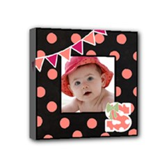 Sara s Baby Canvas Wall Art - Mini Canvas 4  x 4  (Stretched)