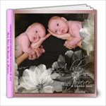 Kat and Sam - the 1st 6 months - 8x8 Photo Book (60 pages)