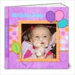 1st Bday - 8x8 Photo Book (20 pages)